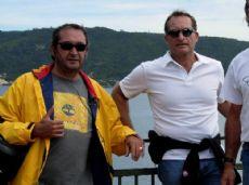 Ottavio Gigli junto al fallecido, Guillermo Mart�nez.